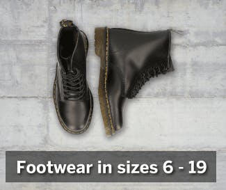 Footwear in Big Sizes!